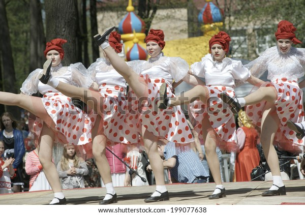 Electrougli Russia May 9 Unidentified Teen Stock Photo Edit Now