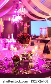 elegance ball room decors