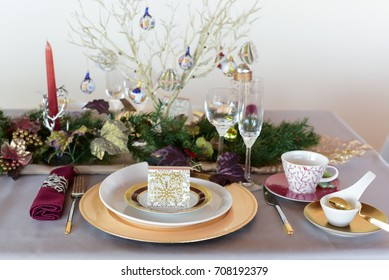 Elegance Luxury Tableware Setup for Dinner