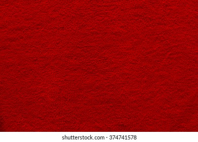 Elegance red color carpet texture / Red carpet
