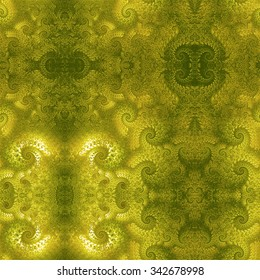 Elegant abstract background with old-fashioned ornaments.  Seamless image.