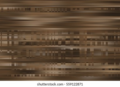 Elegant abstract horizontal brown background with lines. illustration beautiful.
