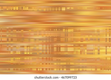 Elegant abstract horizontal golden background with lines. illustration digital background.