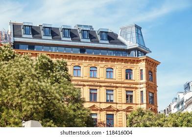 Elegant apartment building in central Vienna