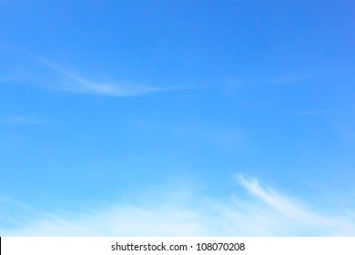 Elegant blank sky background