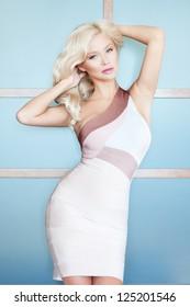Elegant blond