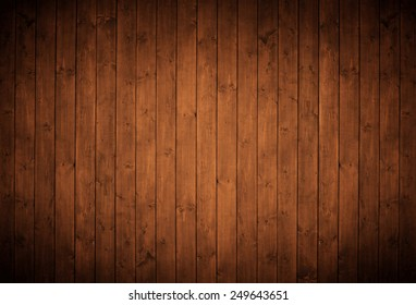 elegant brown wood panels.