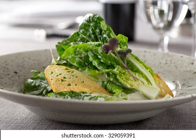 elegant caesar salad