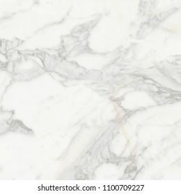Elegant Carrara White Marble. Floor Tile Texture.