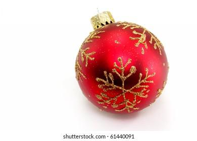 Elegant Christmas baubles