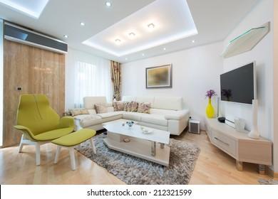 Elegant and comfortable apartment interior