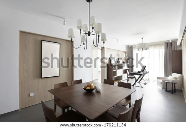 Elegant Comfortable Home Interior   Interiors Stock Image