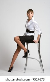 elegant fashion woman