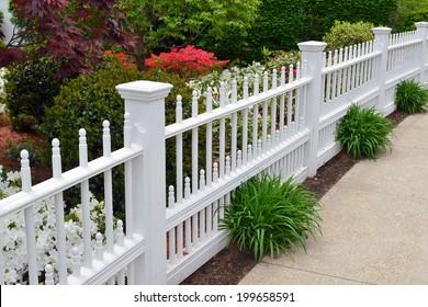 Elegant Garden Fence