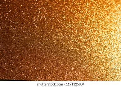 Elegant gold glitter sparkle confetti background