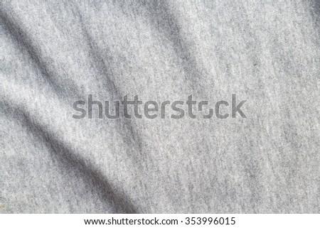Elegant Gray Cotton Fabric Texture Background Stock Photo Edit Now