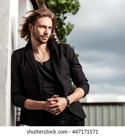 Long Hair Man Images, Stock Photos & Vectors | Shutterstock