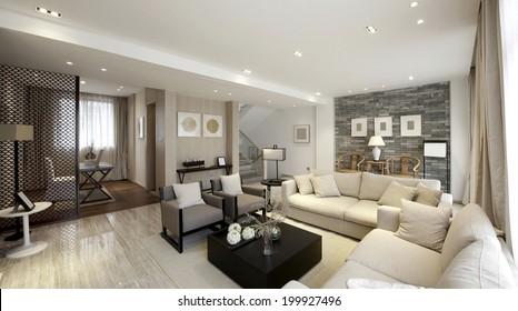 Elegant house interiors,Parlor