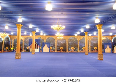 Elegant interior for party or banquet