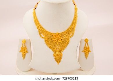 dbddefffb gold jerezwine necklace jewelry heavy designs indian