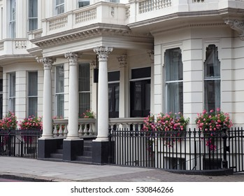 Elegant London townhouses