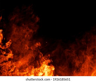 Elegant and luxurious background textures - Fire flames