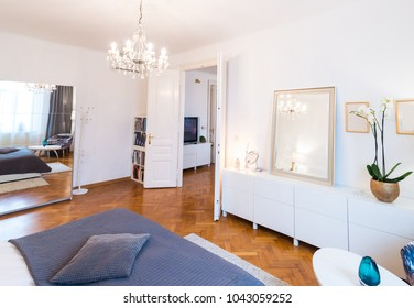Elegant and luxury Bedroom interior