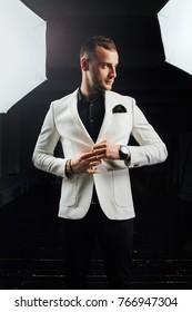 James Bond Suit Images Stock Photos Vectors Shutterstock