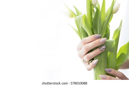 Elegant nails hybrid ald flowers