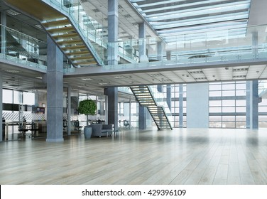 Elegant office interior