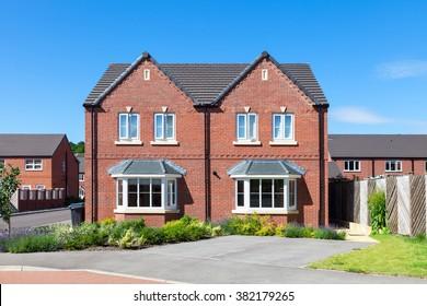 Elegant semi detached house