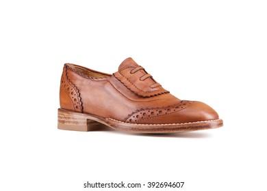 Elegant shoes isolated