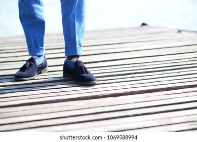 elegant shoes and original socks