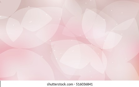 elegant soft pink color butterfly background. Abstract Butterfly Background -
