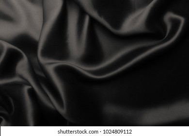 Elegant soft silk with waves, abstract background