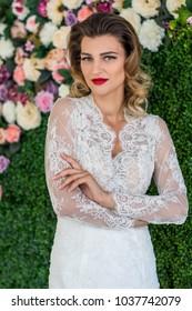 the elegant and stylish bride
