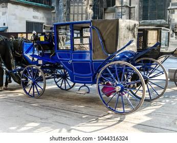 Elegant Viennesse Carriages, Vienna, Austria