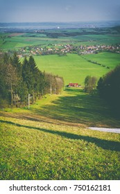 Elegant view of the mountainous terrain