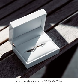 elegant wedding rings. Marriage atributes