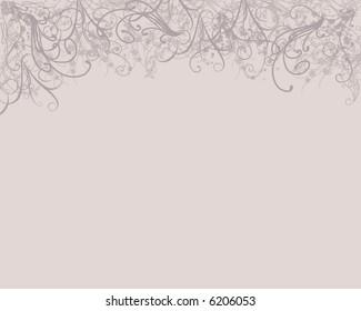 Elegant whispy background