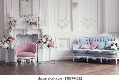 Images, photos et images vectorielles de stock de Salon Classique ...