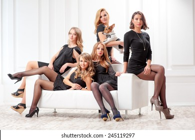 Prime Sofa Woman Studio Stock Photos Images Photography Gmtry Best Dining Table And Chair Ideas Images Gmtryco