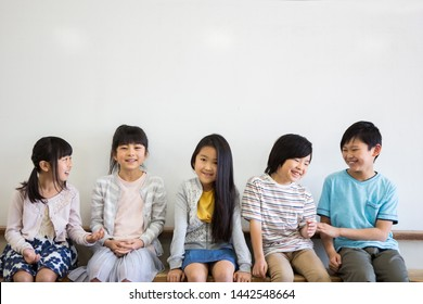 Elementary school students in the classroom