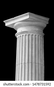Elements of architectural decorations of buildings, columns, pommel and arches, plaster moldings, plaster patterns. On the streets in Catalonia, public places.