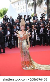 Elena Lenina  attends the opening gala during the 71st annual Cannes Film Festival at Palais des Festivals on May 8, 2018 in Cannes, France.