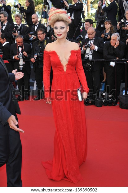 """Elena Lenina at the gala premiere of """"The Past"""" (Le Pass) in competition at the 66th Festival de Cannes. May 17, 2013  Cannes, France"""