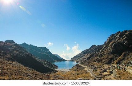 Elephant lake in Sikkim, Lakes in mountains