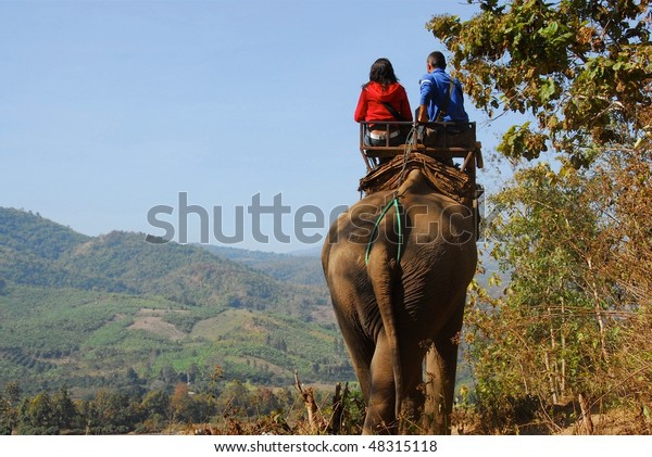 Elephant Ride in Thailand