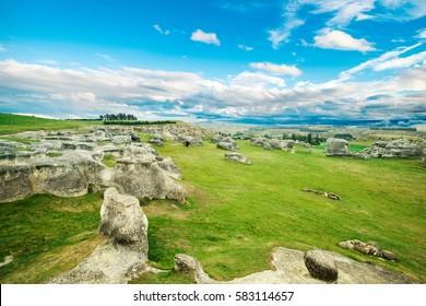 Elephant Rocks, New Zealand