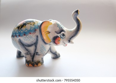 An Elephant Statue, A Porcelain Elephant, A Beautiful Elephant
